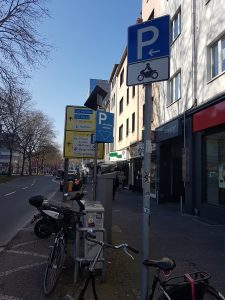 Motorradparkplatz Bochum Südring