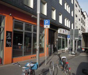 Motorradparken Bochum Kortum-Brückstraße