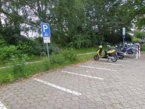 Motorradparkplatz Emil -Figge Straße 50