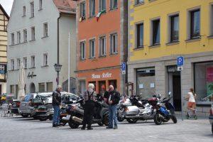 Motorradparkplätze Weißenburg - Luitpoldstrasse