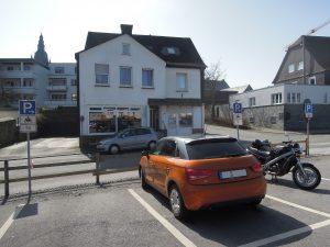 Motorradparkplatz Brilon Marktstraße