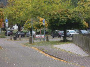 Motorradparkplatz Bodenwerder