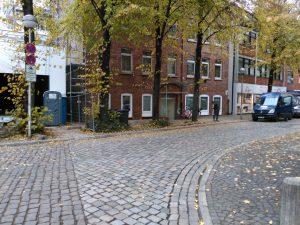 Motorradparkplätze Minden - Am Rathaus