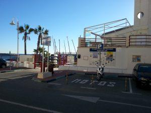 motorradparkplätze benalmadena - av. juan sebastian elcano