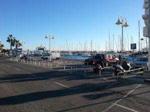 motorradparkplätze benalmadena - calle la fragata
